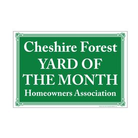 Cheshire Forest 12x18 sign image