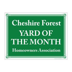 Cheshire G&W YOTM sign image