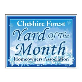 Cheshire Snowflakes YOTM sign image
