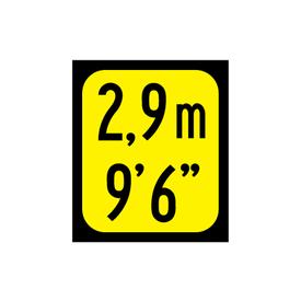 2,9m Decal image