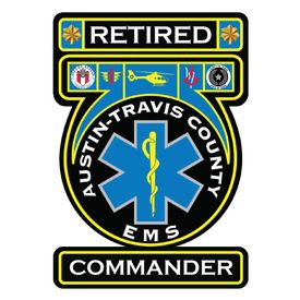 Retired Com Austin Travis County EMS decal image
