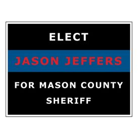 Elect Jason Jeffers sign image