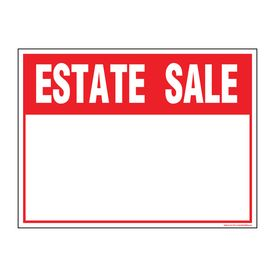 Estate sale v2 sign image