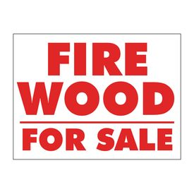 Firewood For Sale sign image