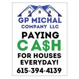 GP Michal yard sign image