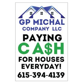 GP Michal 36x24 sign image