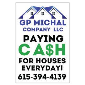 GP Michal 36x24 sign image