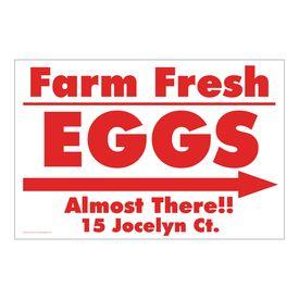 Jocelyn Ct R&W Right arrow sign image