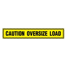 Caution Oversize Load 6x36 Magnetic Image