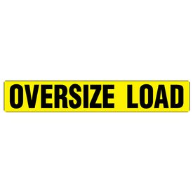 Oversize Load 6x36 Magnetic Image