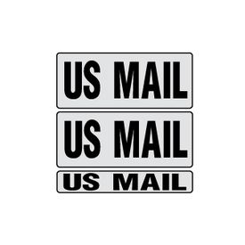 US Mail gray 9x22 kit magnetic image