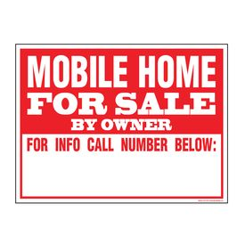 Mobile Home FS sign image