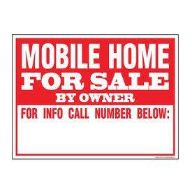 Mobile Home FS sign image