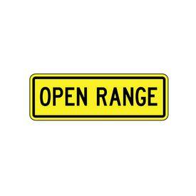 Open Range 8x24 sign image
