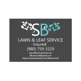 SB Lawn & Leaf 36x52 sign image