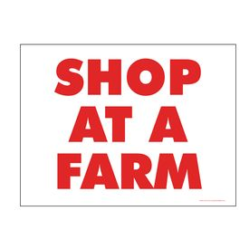 Shop At A Farm sign image