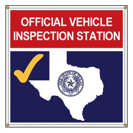 Texas State Inspection 48x48 Banner Image