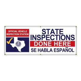 State Inspections Done Here Texas Se Habla banner image