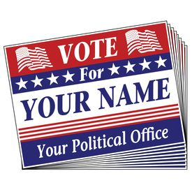 Vote For You signs image
