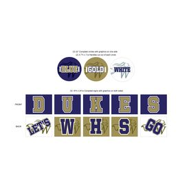 Windsor High Cheer Sign Image