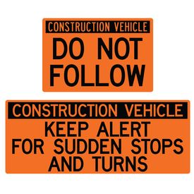 Construction Vehicle Sign Kit Image