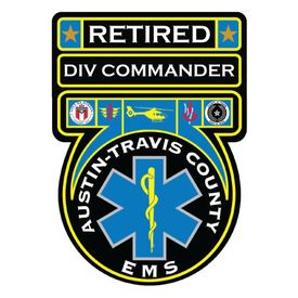Retired Div Commander ATC EMS Decal Image