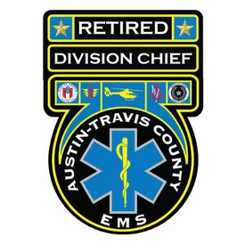 Retired ATS EMS Division Chief v2 Decal Image