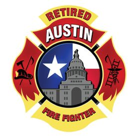 Retired Austin Fire Fighter Decal