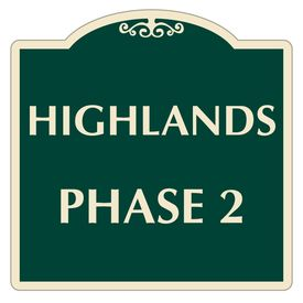 Highlands Phase 2 Sign Image