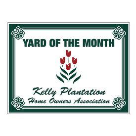 YOTM Kelly Plantation Home Owners Association Coroplast Sign Image