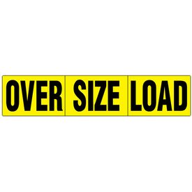 Over Size Load magnetic sign image