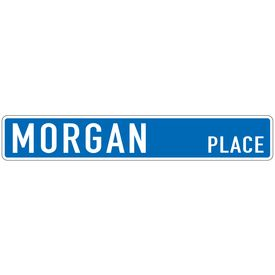 Morgan Place 6x36 Aluminum street sign