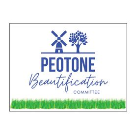 Peotone Beautification 18x24 Yard sign