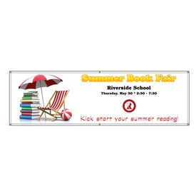 Riverside School Summer Book Fair Banner Image