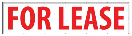 For Lease 48 x 192 banner image