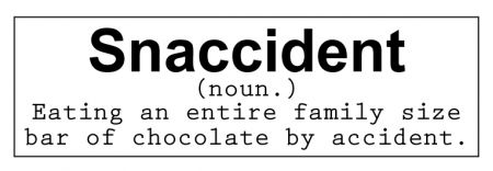 Snaccident decal image