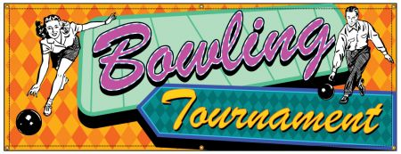 Bowling Tournament Retro banner image