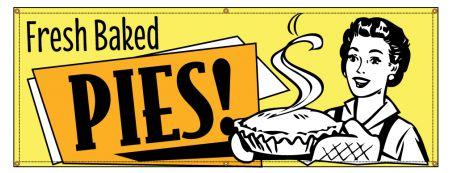Fresh Baked Pies Retro banner image