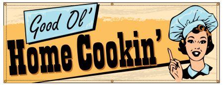 Good Ol' Home Cookin' Retro banner image