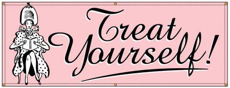 Treat Yourself Retro banner image