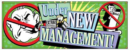 New Management Retro banner image