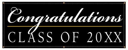 Congratulations 20XX banner image