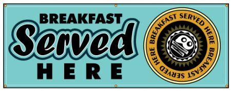 Breakfast Served banner