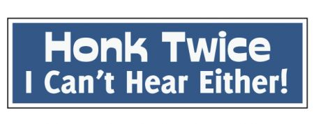 Honk Twice decal image