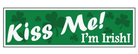 Kiss Me I'm Irish decal image