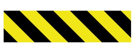 Caution stripe 2 decal image