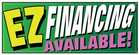 EZ Financing available banner image