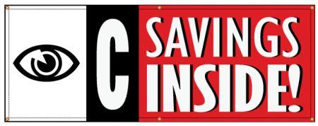 I See Savings banner image