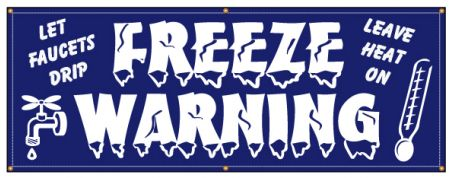 Freeze Warning banner image