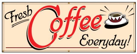 Fresh Coffee Everyday banner image